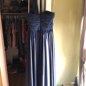 Light in the Box Dresses - Navy Blue Bridesmaid Dress